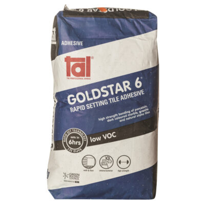 Tal GoldStar 6 Hr Rapid Setting Adhesive 20 Kg